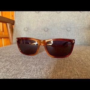 NEW Tom Ford Brown Hugh sunglasses shades